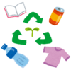 リサイクルを心がけて節約を目指す (`・ω・´)