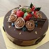 クリスマス♪「チョコ好きにはたまらない大人のチョコムースケーキ」