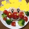 一歳の誕生日手作りアンパンマンご飯と手作りケーキ★