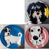 アンソロポロジー可愛い犬のケーキプレート3枚セット セール中です。