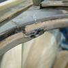 1971 マスタングマッハ1 デッキショルダーの修復8