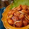 【レシピ】豚こま肉で柔らかポークチャップ
