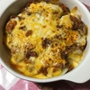 ポテトのミートチーズ焼き