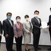 19日、原発汚染水の海洋放出反対を国に求めるよう県に申し入れ