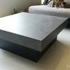 ついにリビングのテーブルが届いた! 正方形なコンクリート! DIYで世界で1つだけのテーブルに!