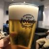 那覇空港国際線ラウンジ使用記録。ビールは抜かりなくオリオンビール!