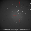 小惑星 ゴールト 6478 辛うじて尾が写る≒彗星