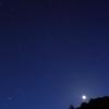 19日の夜空とお月さまです。