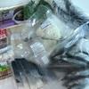 今日の買い物編。冷凍魚とマスタードと油揚げの代用。
