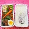 ラビット弁当2回分の記録/My Homemade Rabbit Lunchbox/ข้าวกล่องเบนโตะสำหรับสามี