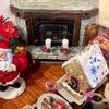 クリスマスに向けてのミニチュアルーム制作④-3(キャンドル)