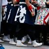 近畿大学よさこい連 洗心:17日、第17回こいや祭り@京橋駅前