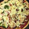 初めて焼いたピザ