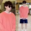 イ·ドンウク,オレンジのウオーシャツで温かい衣装