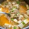 鶏ナンコツの麻婆豆腐