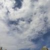 十日ほど前の雲