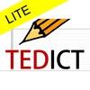 【無料iOSアプリ】TEDを活用した英語学習アプリ「TEDICT LITE」でリスニング力を伸ばす