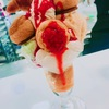 伊勢丹新宿のフランス展で食べたパフェ