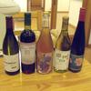 で、夜は井戸端でワインを片手に、、、。