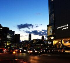 ★大阪グランヴィアの空