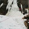 能取岬 クジラの滝とオコジョの滝