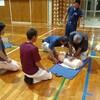 救命救急講習会へ