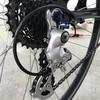 クロスバイク 修理に取りかかる。