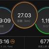 2/3 ロング走練習会ラン27km
