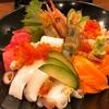 鳥取駅前 海鮮問屋直営の居酒屋 村上水産鮮魚部で特上海鮮丼ランチ