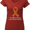 Nice Pumpkin You can't scare me I fight multiple sclerosis shirt