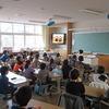児童会選挙:テレビ応援演説