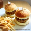 手作りハンバーガー de おうちランチ