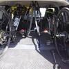 SUV(三菱 エクリプスクロス)にロードバイクを車載するとこんな感じです!