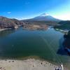 精進湖(山梨県南都留)