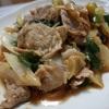 下仁田ネギと豚こま肉の炒め物