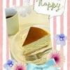 第15回お菓子サークル活動報告(*^ー^)ノ♪ ベイクドチーズケーキ♪