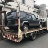 茅ヶ崎市から車検の切れた外車をレッカー車で廃車の引き取りしました。