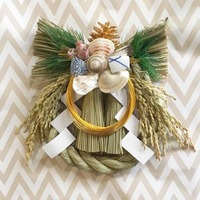 注連飾り(正月飾り)は「ちょい足し方式」で 簡単オリジナルの記録