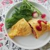 4/30『ボーソー米油』で柔らか鶏ムネ!簡単チキンオムライス
