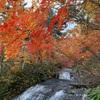 【恵庭渓谷「白扇の滝」「ラルマナイの滝」「三段の滝」】に紅葉狩りへ♪
