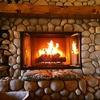 さむーい日には暖炉で温まろう!