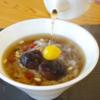 【d:matchaのこと】2018年1月の新メニューのご紹介。温かい抹茶ぜんざいや薬膳粥も・・・!