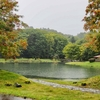 ふきだし公園の池(北海道京極)