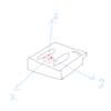 TI-Nspire & SensorTag / 重力加速度から傾きを求める / 1 軸だけ使う