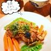 さわやか~!青じソースで豆腐&もやしハンバーグ☆