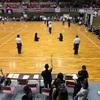 剣成会少年の部、初試合。