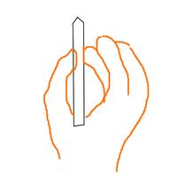 【AIM考察19】鉛筆と同じ感じでマウスを扱う