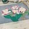 蘭の日本画 完成。