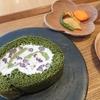 【コロナ鬱の息抜き】麻布野菜菓子カフェコーナーでほうれん草と抹茶のロールケーキ@麻布十番