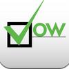 【iPod touch】無料アプリ「vow」/その日達成するべきタスクとのその成否をログとして残す